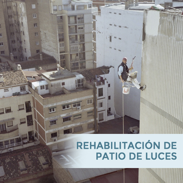 Rehabilitación de patio de luces